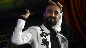 Abel Pintos debió reprogramar uno de los shows que tenía previsto en River