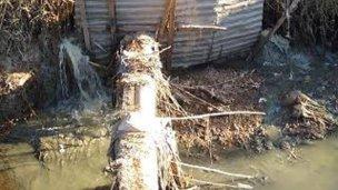 Buscan mejorar el estado de la red cloacal y su impacto en el río