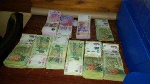 Un ciudadano chino viajaba a Chajarí con $ 350.000 en un bolso