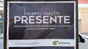 El Ejecutivo destinó cuarto millón de pesos para afiches publicitarios