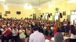 Más de doscientos docentes accedieron a la titularidad de sus cargos