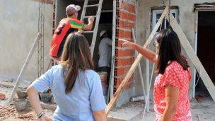 Avanza la construcción de viviendas sociales con fondos de Nación