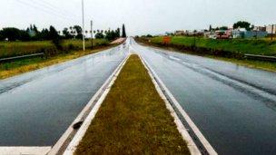 Por las lluvias, hay pasos cortados en el departamento Colón