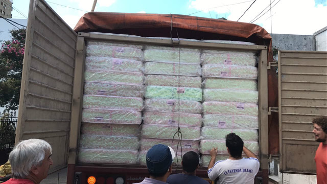 Tras el temporal las familias afectadas recibieron ayuda desde Nación