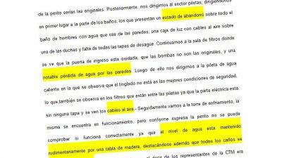 Los documentos que revelan la decadencia del Hotel Ayuí