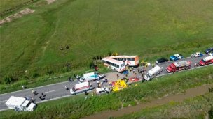Más de diez fallecidos en un accidente en Santa Fe