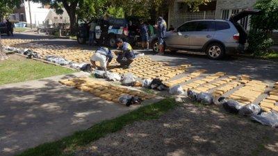 Capturaron en Paraná a narcos con 700 kilos de marihuana