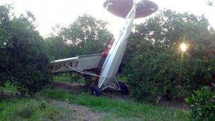Milagro: Cayó a tierra con su avioneta y sobrevivió