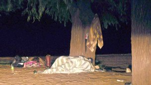 Dormir al aire libre