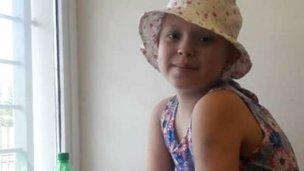 Hay progreso de Antonella tras el trasplante