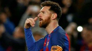 Revelan el misterio detrás del festejo de Messi