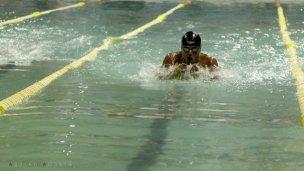 A los 45 años, cumplirá su sueño de nadar en el mundial