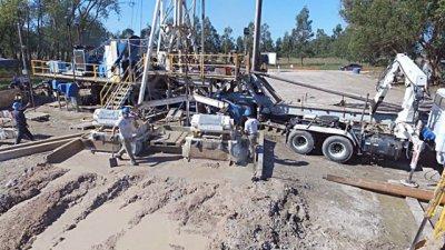 Harán otra perforación termal en el Acuífero Guaraní