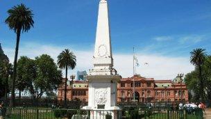 Villa Elisa tendrá una réplica de la Pirámide de Mayo