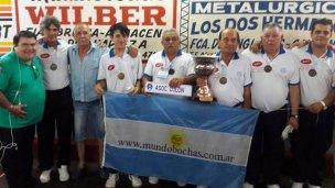 La Asociación Colonense campeona nacional de tríos