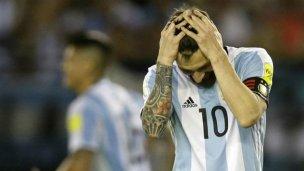 Duro golpe: Messi fue suspendido por 4 partidos
