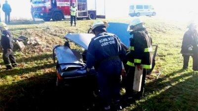 Por una imprudencia, tres autos chocaron en ruta entrerriana