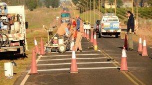 Concejales piden la urgente reparación del acceso a su ciudad
