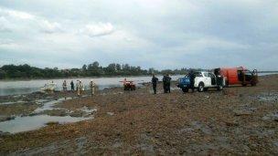 Encontraron muerta a una mujer, en el río Uruguay