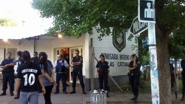 La comisaría de Las Catonas, Moreno