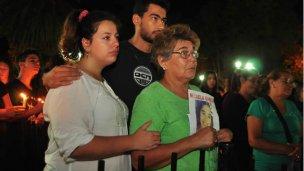 Dolor e indignación por el crimen de Micaela García