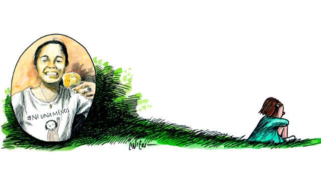 La despedida de Liniers a Micaela