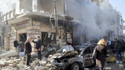 Atentado en Siria se cobra al menos 100 vidas