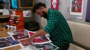 """Muestra de arte plástico y digital """"Distorsionando"""" de Javier López"""