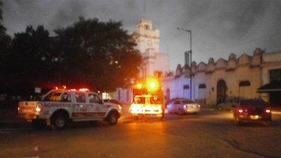 Se incendió un transformador subterráneo en plaza Ramírez