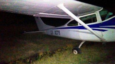 Cayó una avioneta: El piloto huyó y es intensamente buscado
