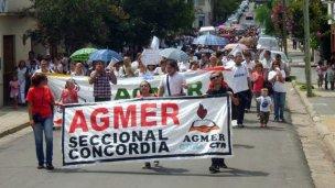 Pelea interna en AGMER: renunció Acuña y apuntó a Stegbañer