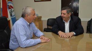 De Angeli con Lauritto planificaron gestiones conjuntas