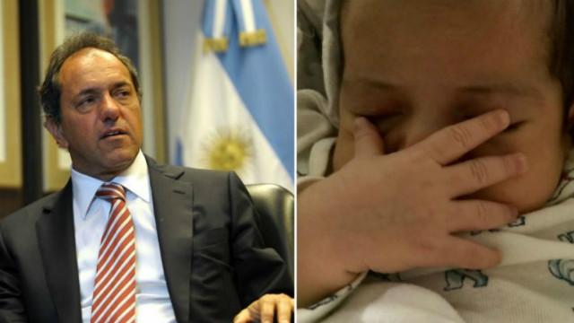 Daniel Scioli será padre nuevamente a los 60 años