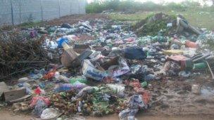 La basura se acumula en Allais y tránsito pesado