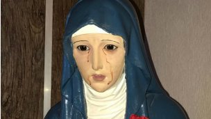 Conmoción en parroquia entrerriana por una virgen que