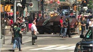 Entrerriano fue testigo de la tragedia de Time Square