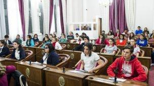 Charla sobre el Senado Juvenil