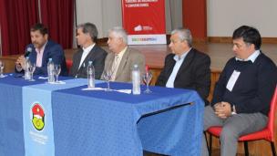 Oliva y Lauritto en el Encuentro de Viceintendentes