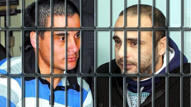 Wagner y Sueldo, presos en la cárcel de Federal.
