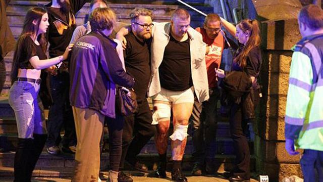Difunden imágenes del atacante de Manchester