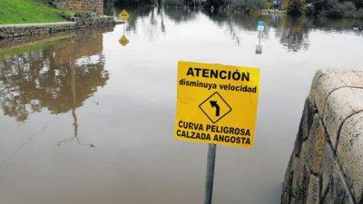 Alerta amarilla por las lluvias y la crecida del río Uruguay