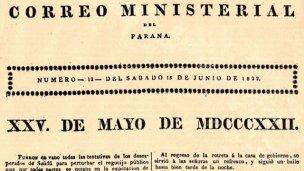 El 1° festejo del 25 de Mayo en Entre Ríos empezó a las 4 de la madrugada
