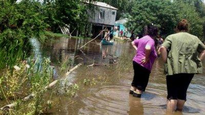 Ciudad entrerriana se prepara para enfrentar otra inundación