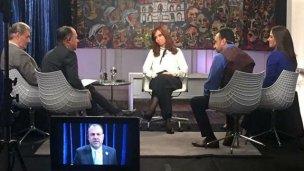"""Entrerriano lideró """"un cuarteto de periodistas muy cómodo para CFK"""""""