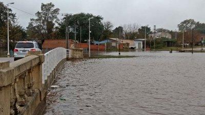Concordia, con el río a 12 metros y 37 familias evacuadas