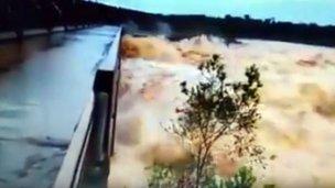 Contundentes imágenes del impacto de las lluvias en Brasil