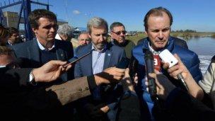 Creciente del Uruguay: ¿qué dijo Frigerio en su visita a Concordia?