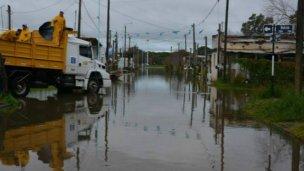 Elevan a 15,40 el pico de la creciente del río Uruguay