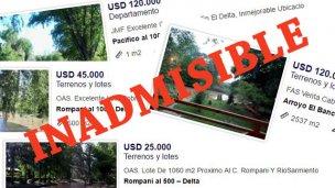 Ratifican que no pueden venderse islas del delta entrerriano