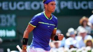 Rafael Nadal venció a Wawrinka y llegó al décimo Roland Garros